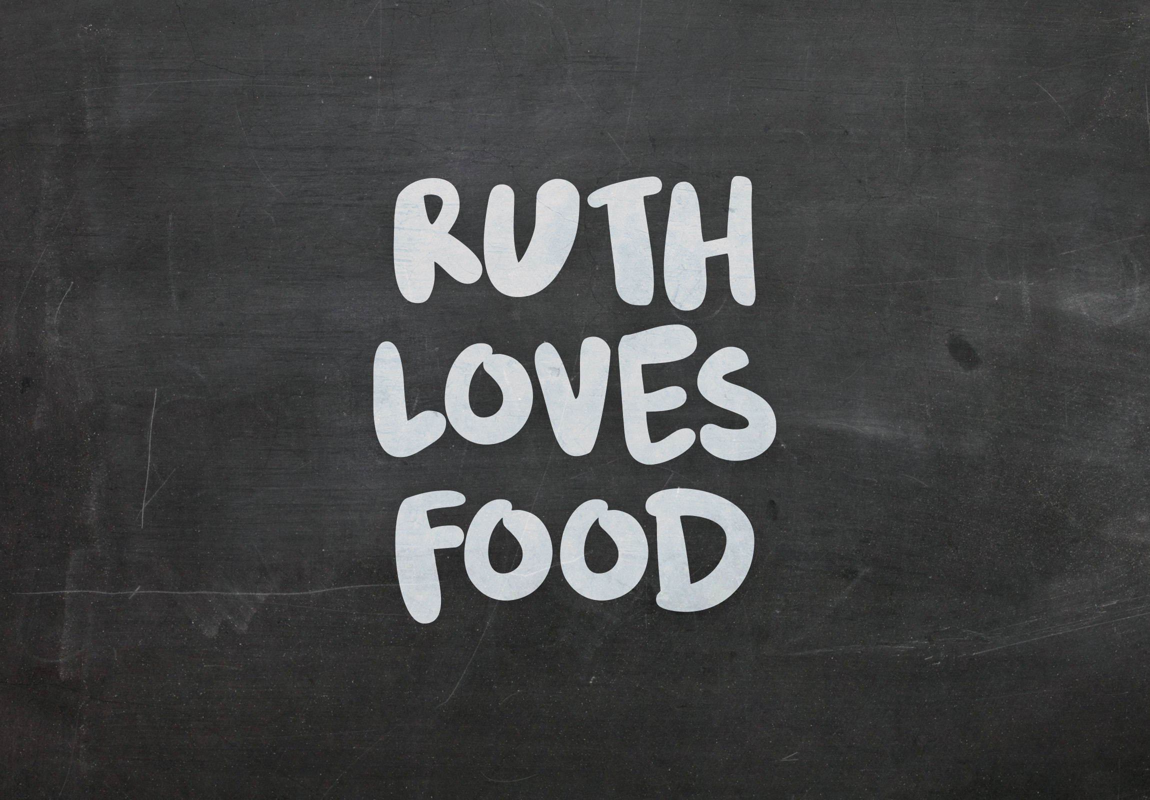 Visuell identitet » Ruthlovesfood